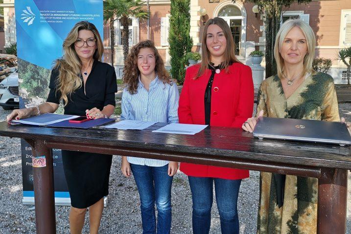 Daniela Gračan, Nika Kurti, Laura Valentić i Romina Alkier / Foto Marina Kirigin