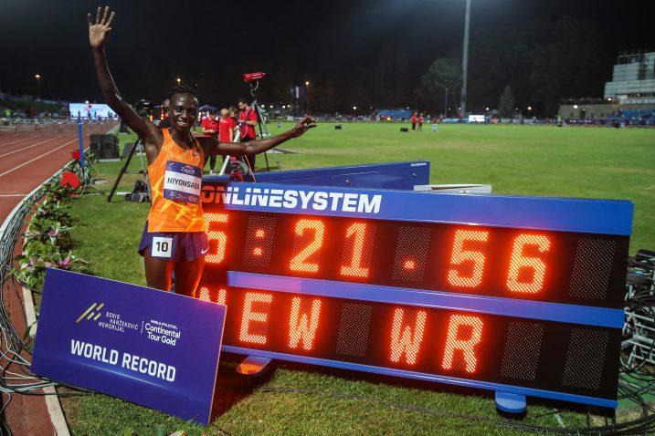 Francine Niyonsaba srušila je svjetski rekord na 2000 m/Foto: PIXSELL