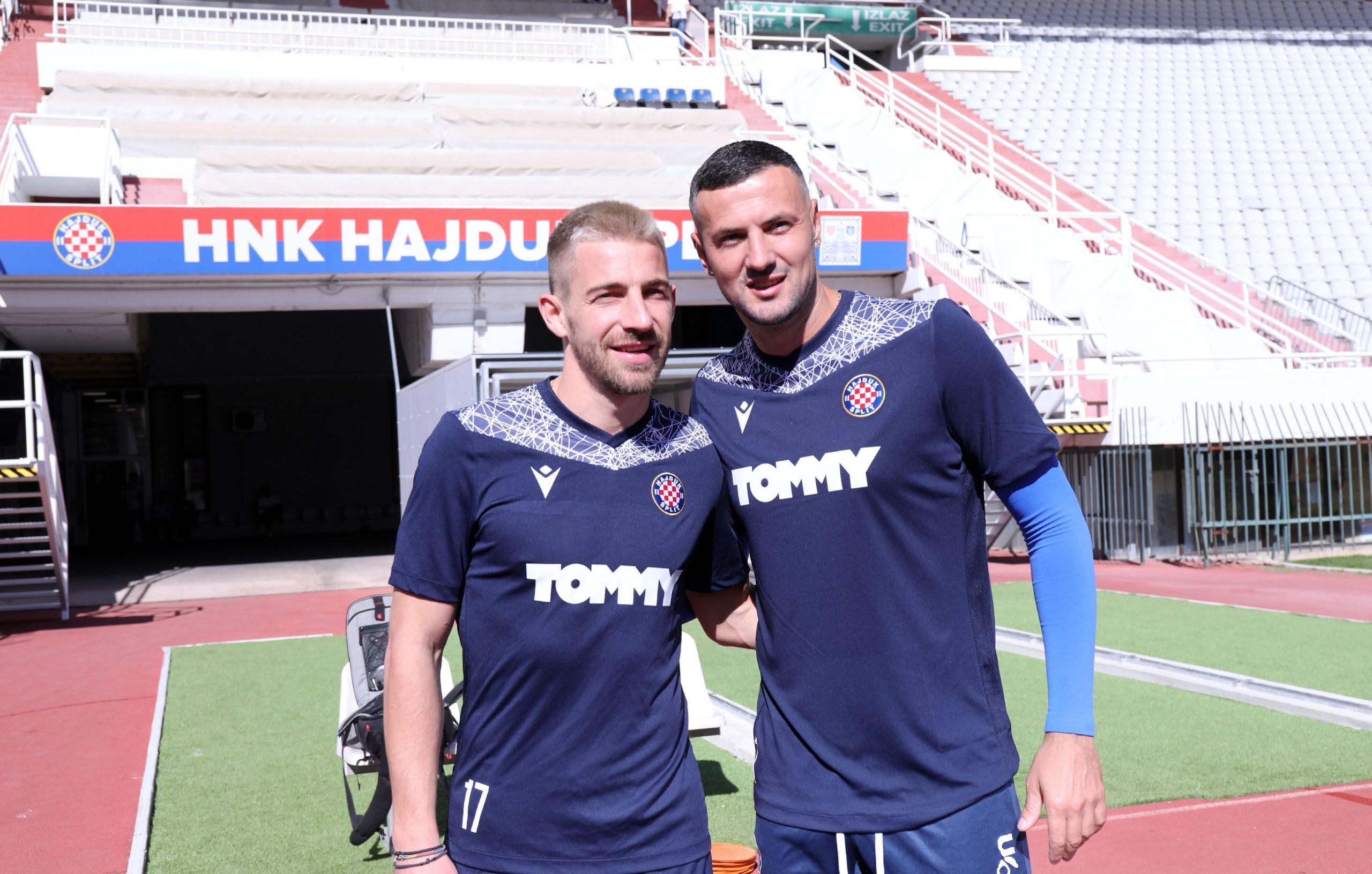Dario Melnjak i Danijel Subašić/Foto PIXSELL