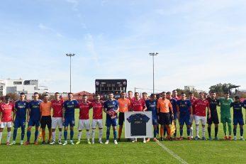 Zajednička fotka uoči početka utakmice/V. KARUZA