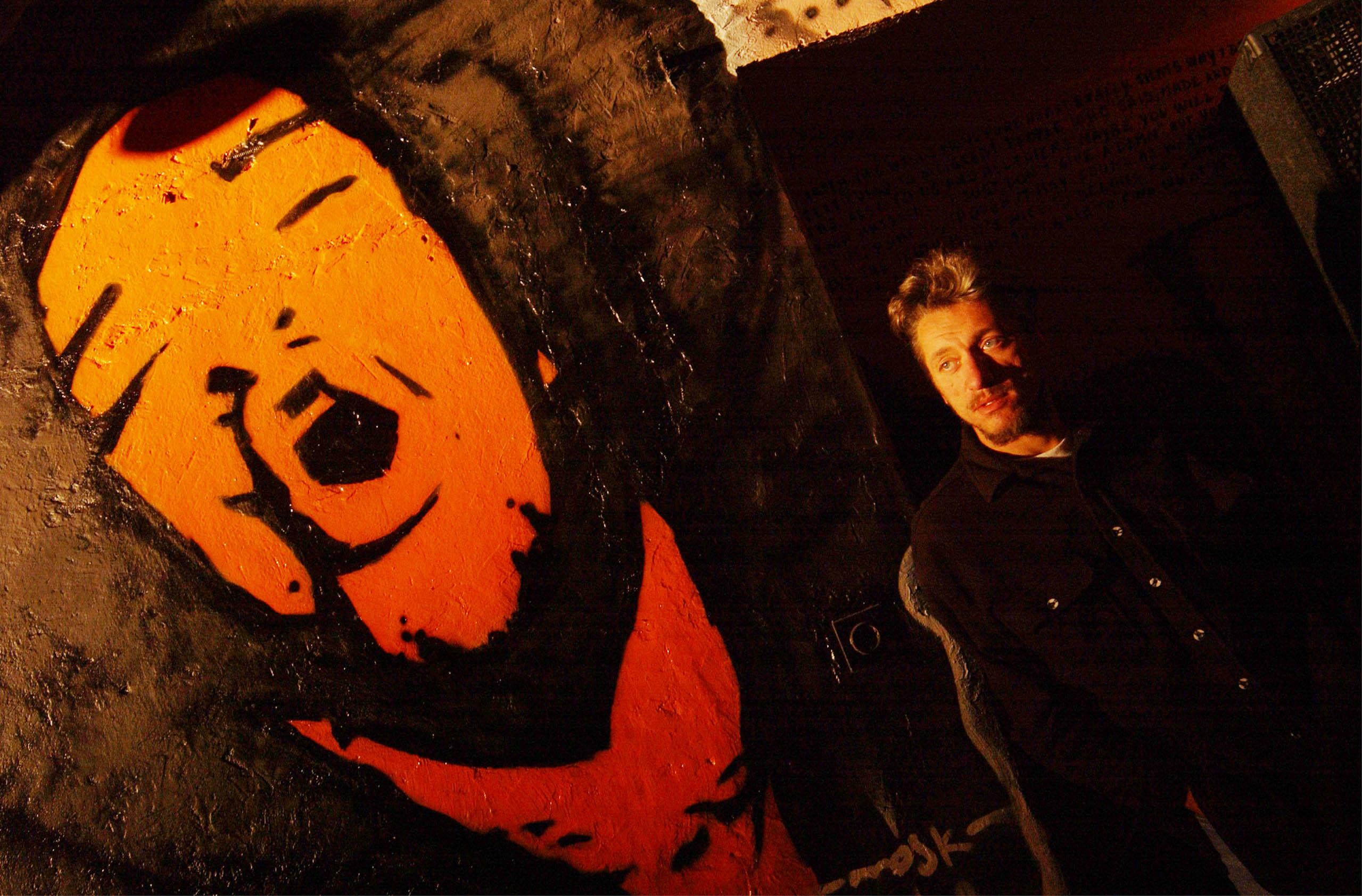 Denis Pilepić snimljen 2002. u Spiritovoj Kreativnoj kuhinji / Foto arhiva NL