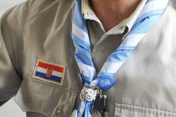Ilustracija dijela uniforme katoličkih skauta / Foto Sergej Drechsler