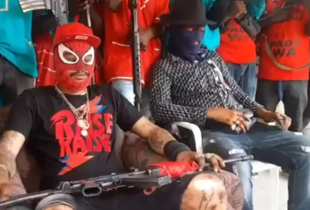 Pripadnici bande 400 Mawozo / Foto Screenshot YouTube