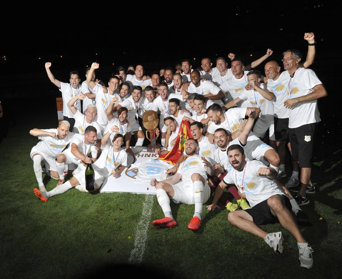 Riječani nakon osvajanja Kupa 2020. godine/Foto Arhiva NL