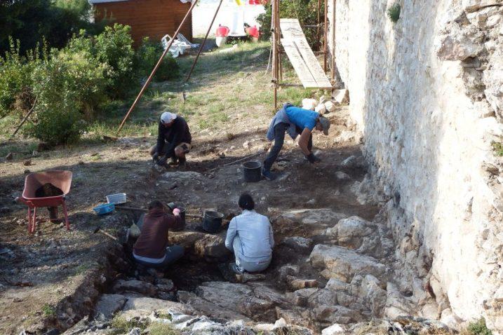 Nalazište utvrde Lopar i radovi na njemu / Foto F. DERANJA