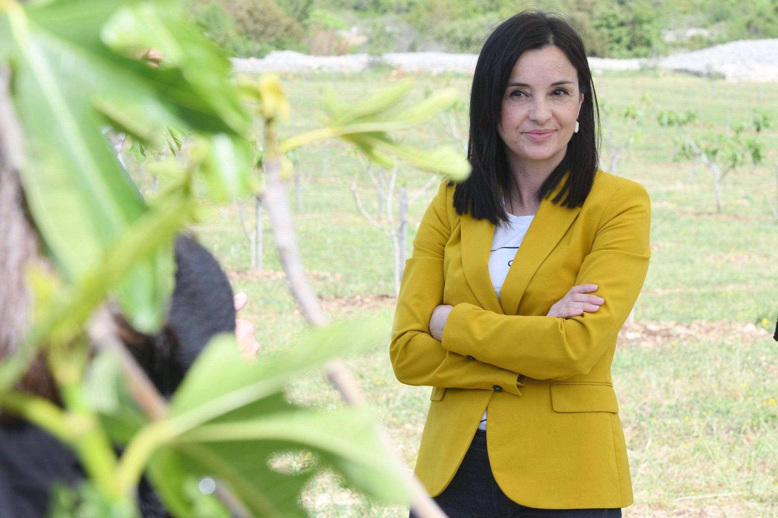 Marija Vučković, ministrica poljoprivrede Photo: Hrvoje Jelavic/PIXSELL