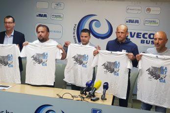 Marko Filipović, Mateo Dejak, Luka Ivančić, Andrej Prskalo i Vjeko Miletić/Foto D. FRANČIŠKOVIĆ