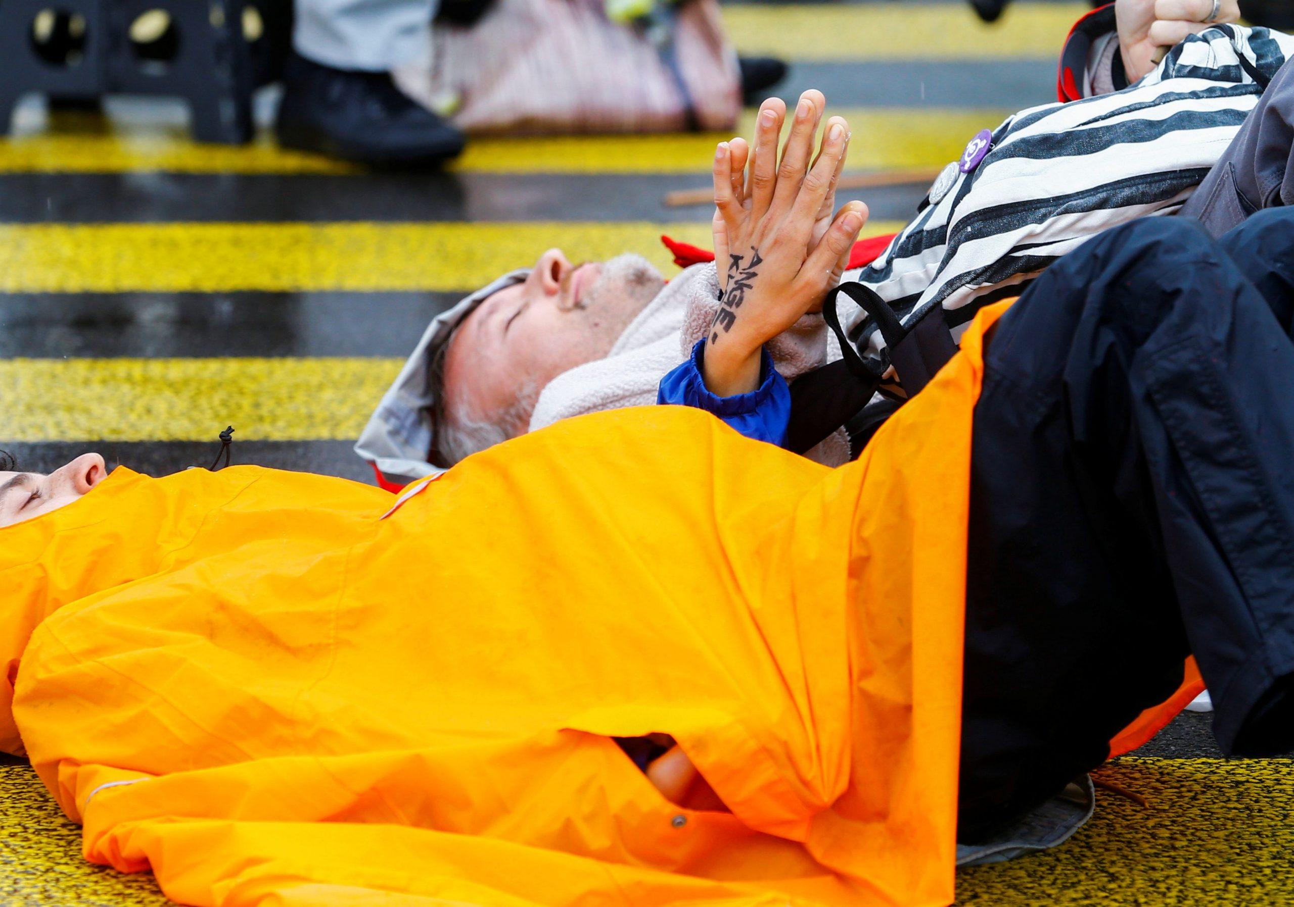 Extinction Rebellion na prosvjedu u Zurichu, Foto: REUTERS
