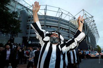 Navijač Newcastlea/Foto: REUTERS