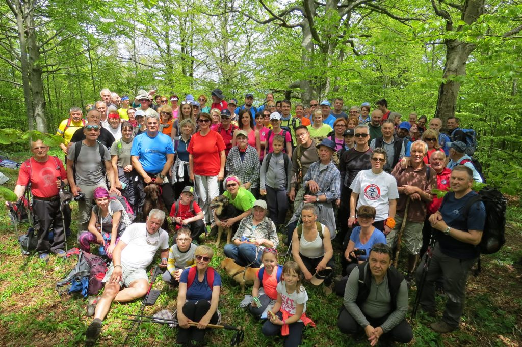 Od kad postoje redovni godišnji planinarski dnevnici, broj planinara koji dolaze u Delnice je bitno narastao / Foto T. MAJNARIĆ