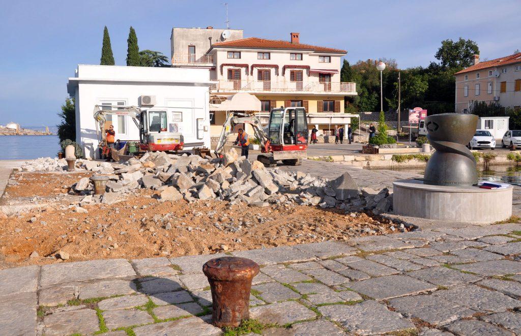 Radovi bi trebali biti okončani u roku od pet mjeseci / Foto M. TRINAJSTIĆ
