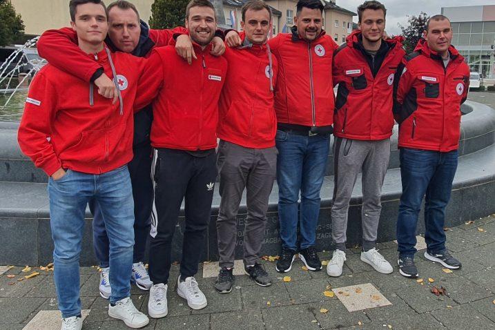 Senjski volonteri Crvenog križa