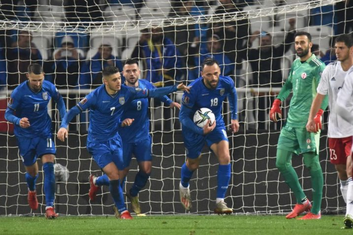 Nogometaši Kosova/Foto REUTERS