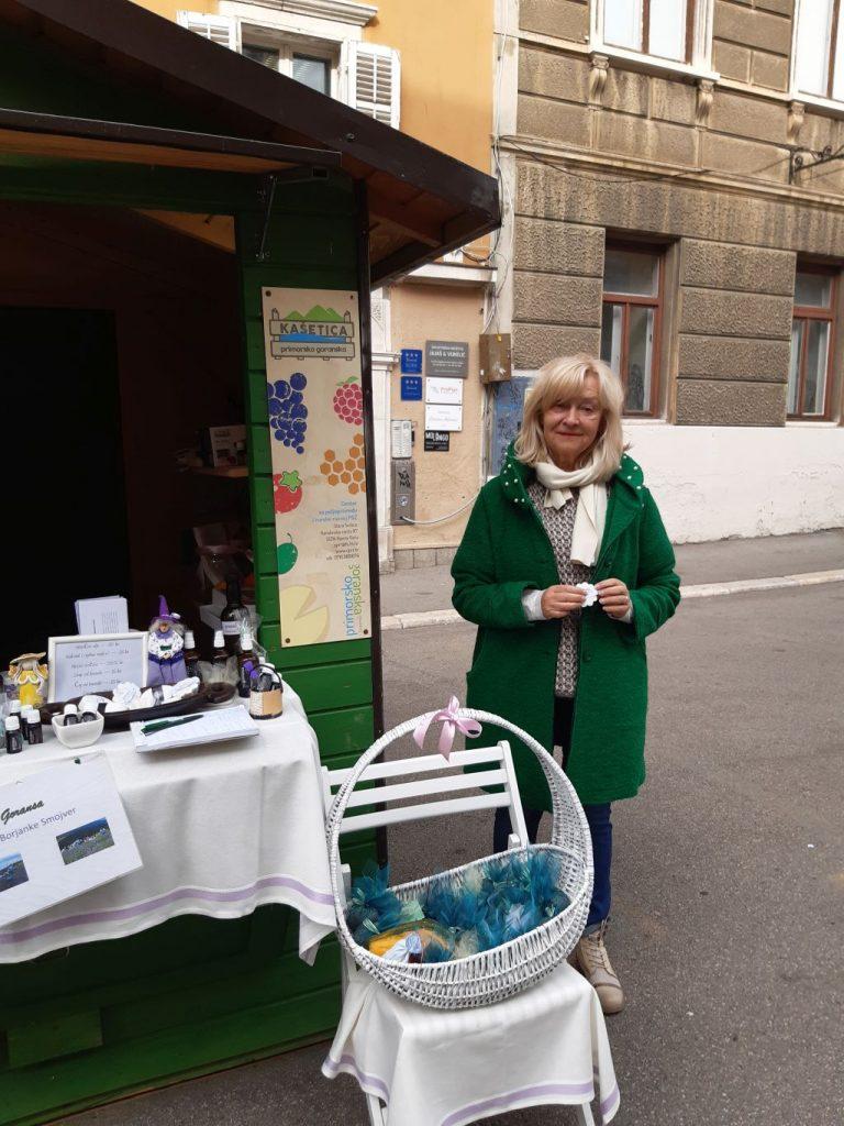 Borjanka Smojver promovira lavandu iz Moravica / foto S. KLEVA