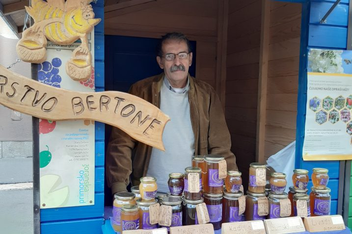 Pčelar Silvio Bertone iz Kukuljanova / Foto S. KLEVA