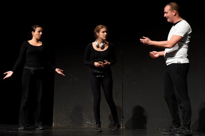 Predstava »Život s vagom« treći je dio trilogije »Kazališne priče« / Foto M. GRACIN