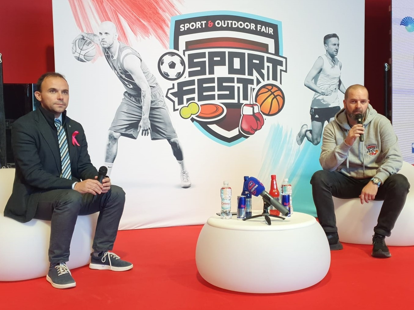 Gradonačelnik Loris Peršurić i izvršni direktor Sport Festa Alan Balen