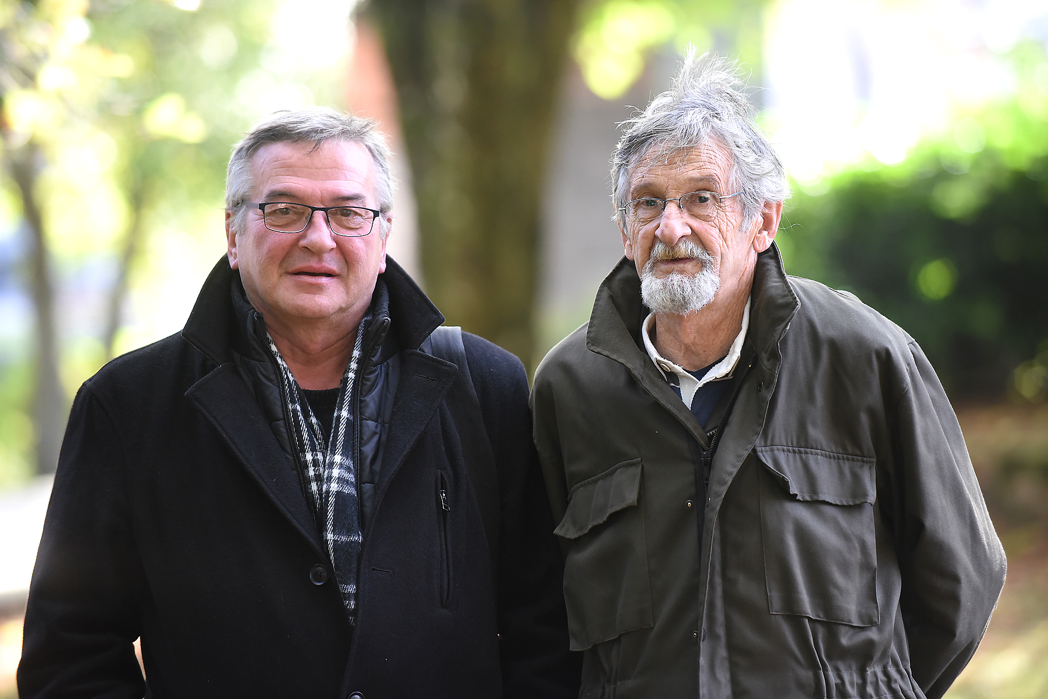 Brigadir Stanislav Linić i pričuvni bojnik Ivan Lerga danas su stanovnici Gorskog kotara, Crnog Luga i Skrada / Snimio Sergej DRECHSLER