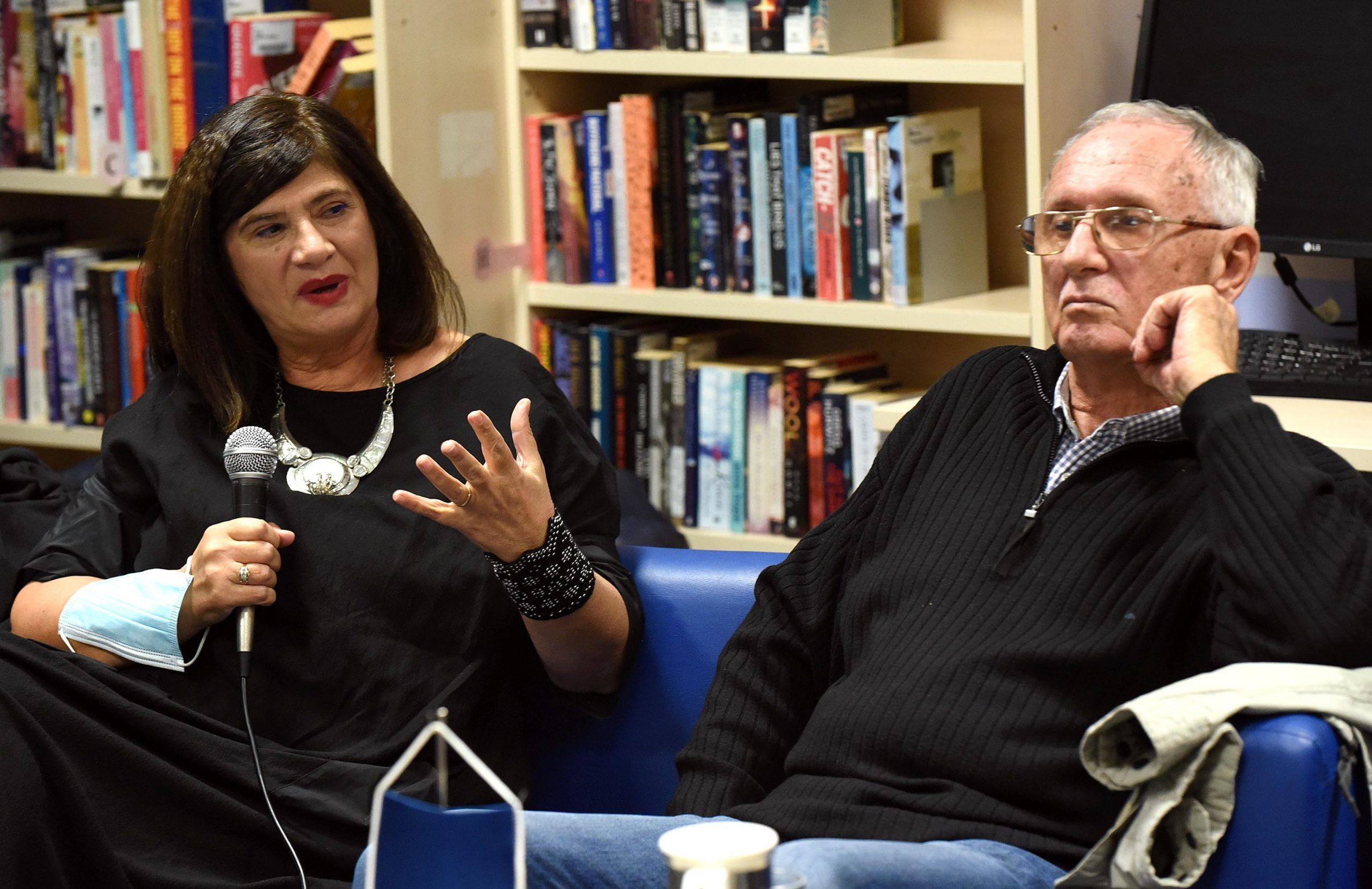 Julijana Matanović i Pavao Pavličić / Foto Marko Gracin