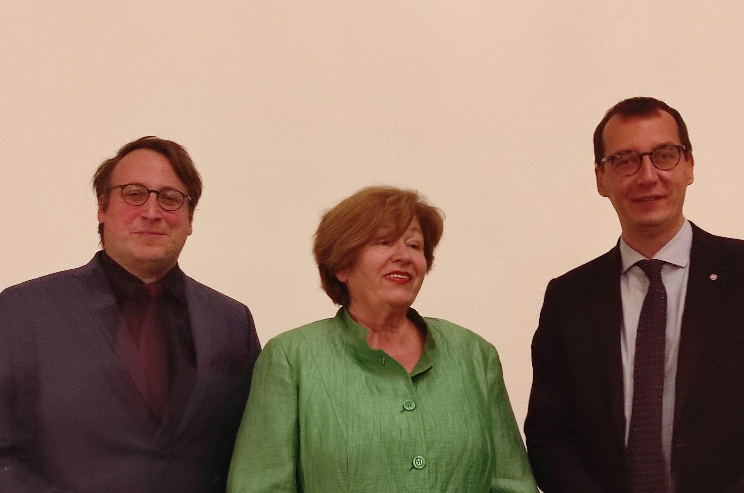 Anton Huber, Mirjana Diminić i Marko Filipović