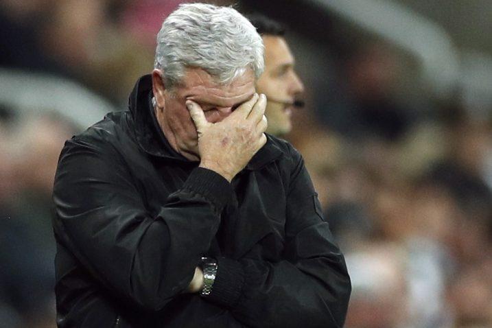 Steve Bruce, trener Newcastlea/Foto REUTERS