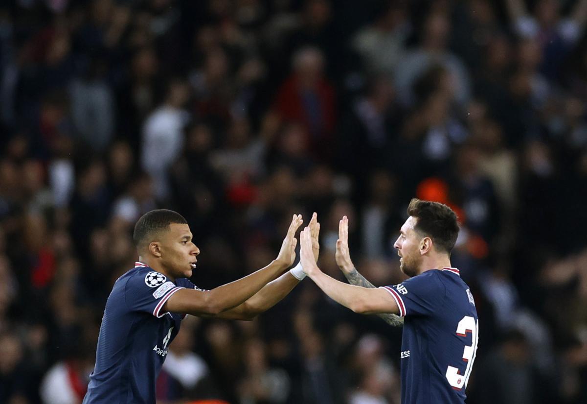 Kylian Mbappe i Leo Messi/Foto: REUTERS