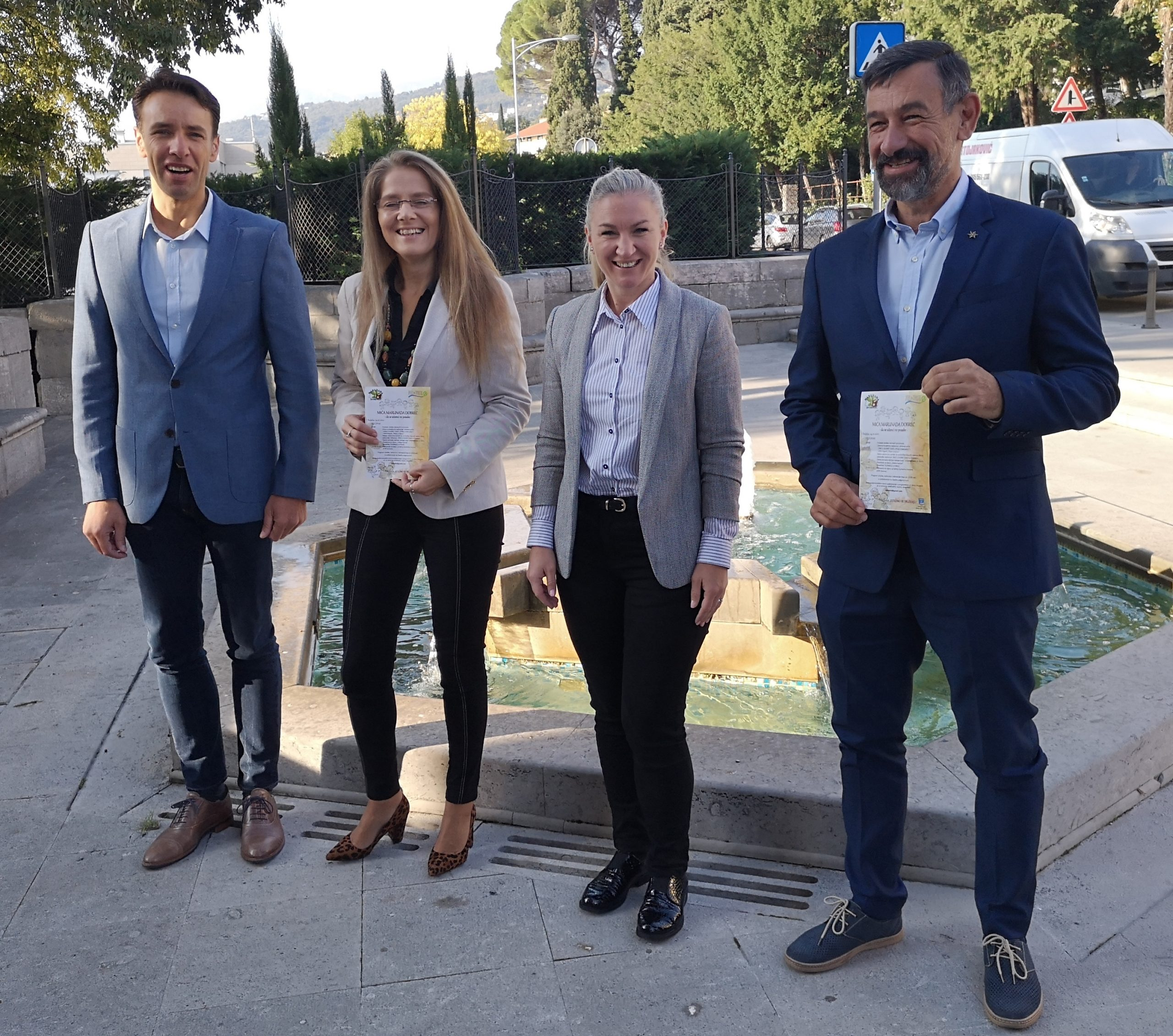 Fernando Kirigin, Lorena Bašan, Kristina Đukić i Nedo Pinezić / Foto A. KUĆEL-ILIĆ
