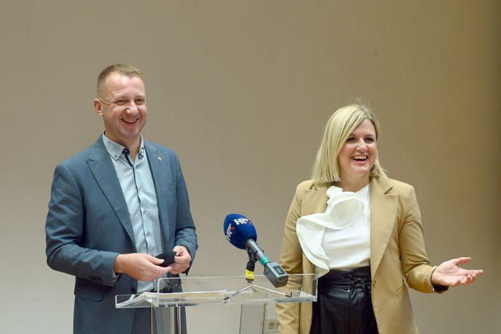 Marko Boras Mandić i Iva Rinčić / Foto Vedran Karuza
