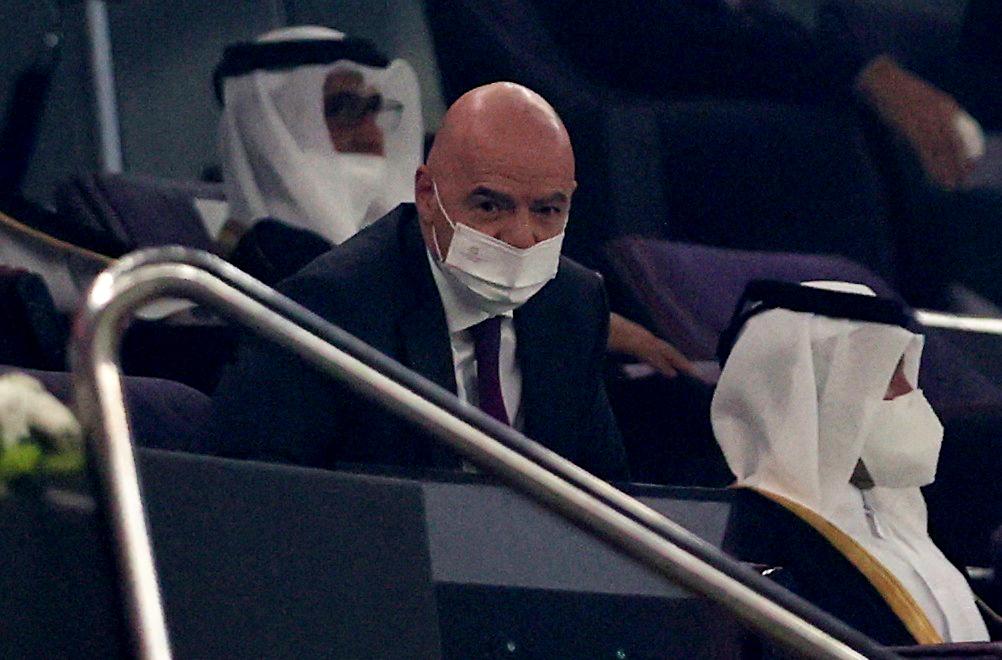 Gianni Infantino/Foto REUTERS
