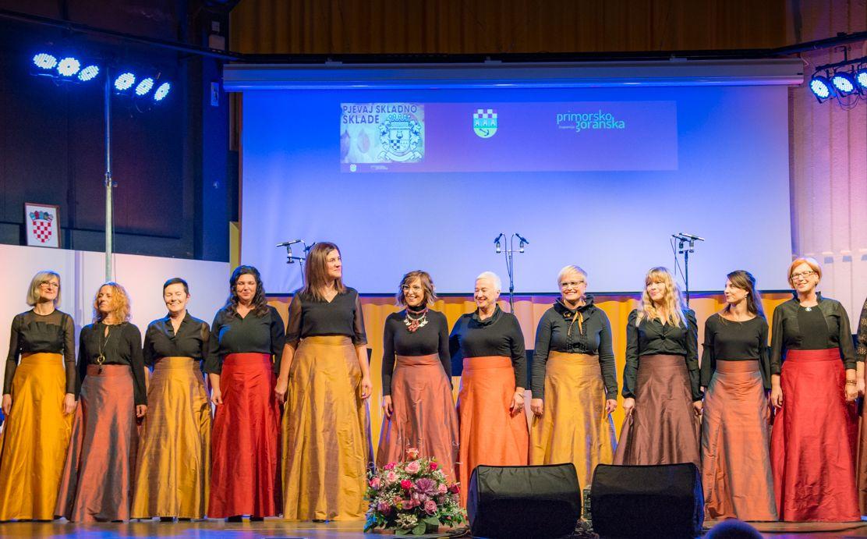 Slavljenički nastup pjevačkog zbora Sklada