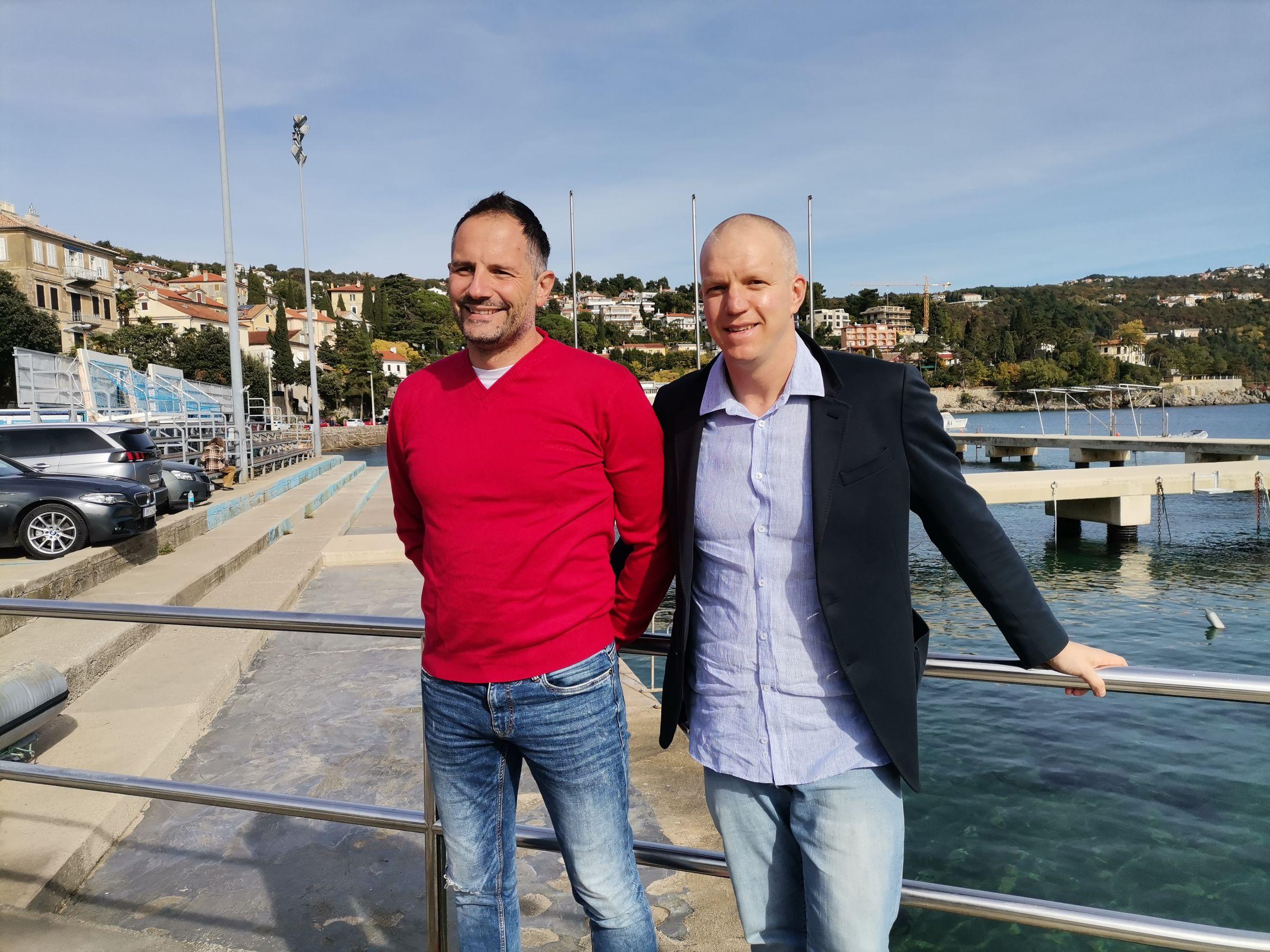 Gabriel Strižić i Danijel Premuš / Foto Marina Kirigin