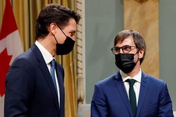 Justin Trudeau i Steven Guilbeault / REUTERS