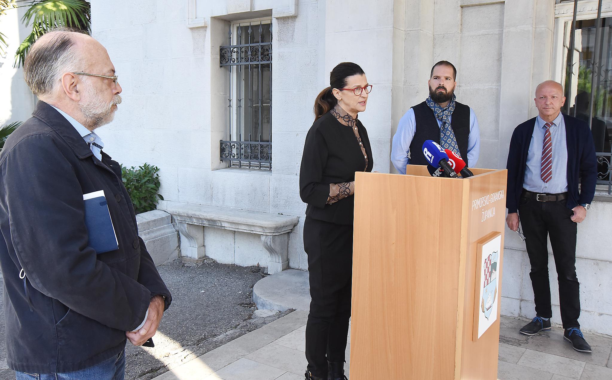 Struka je protiv - Leonardo Bressan, Romana Jerković, Vojko Braut i Vladimir Mićović / Foto S. DRECHSLER