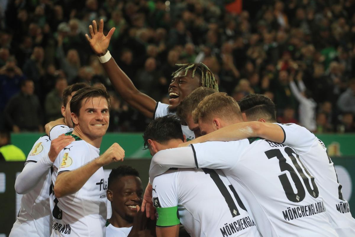 Slavlje nogometaša Borussije M./Foto: REUTERS