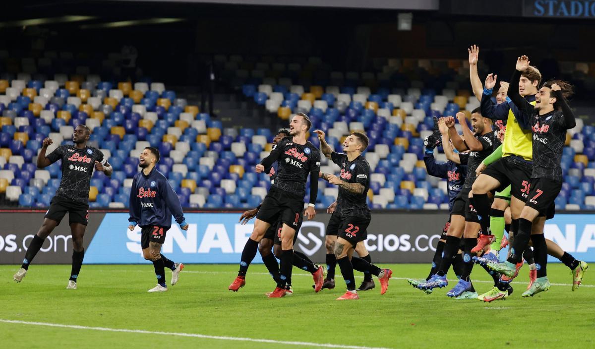 Nogometaši Napolija/Foto REUTERS