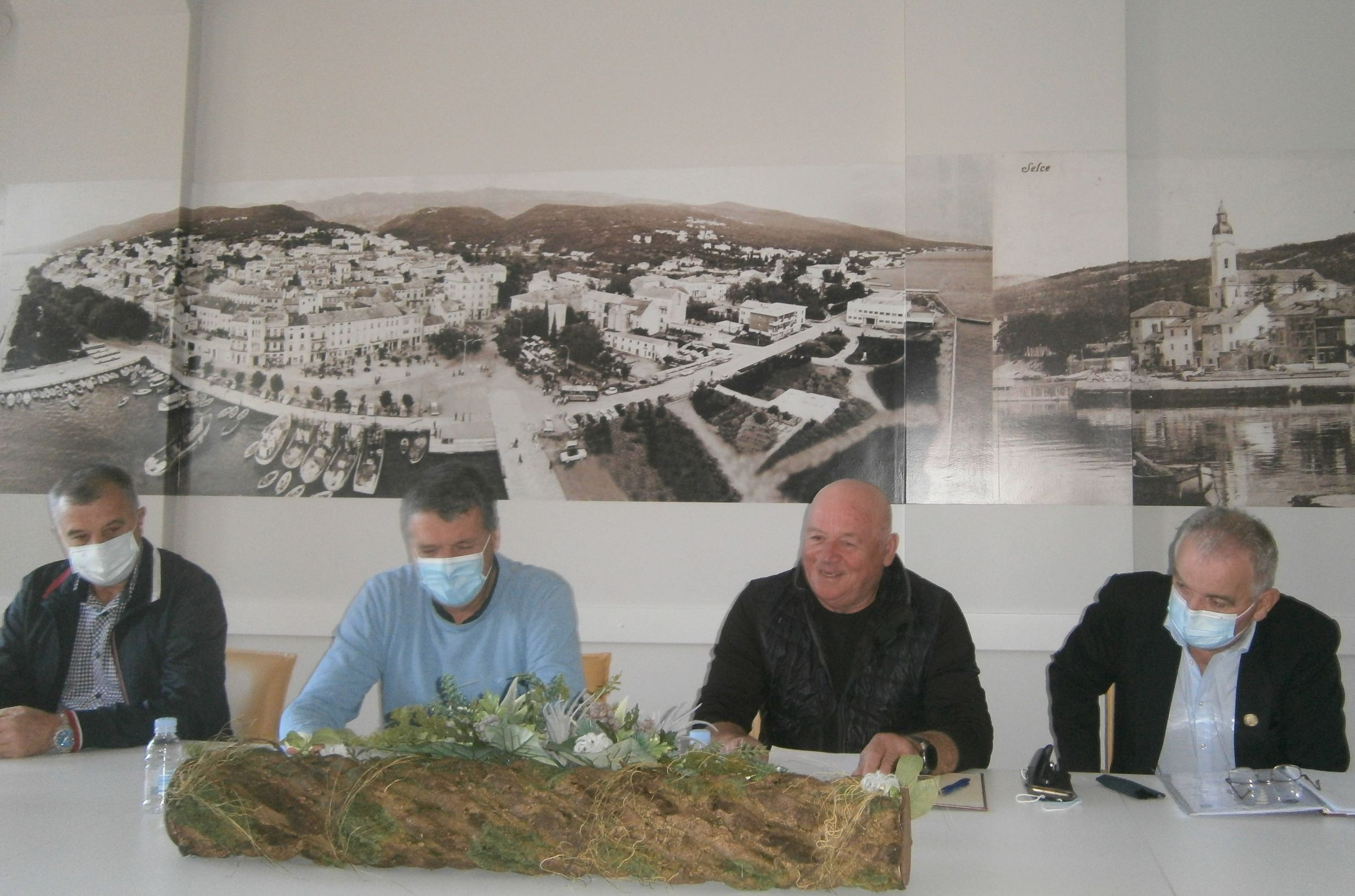 Branko Plukavec, Damir Rukavina, Miljenko Kauzlarić i Pavao Svetić / Foto Franjo Deranja