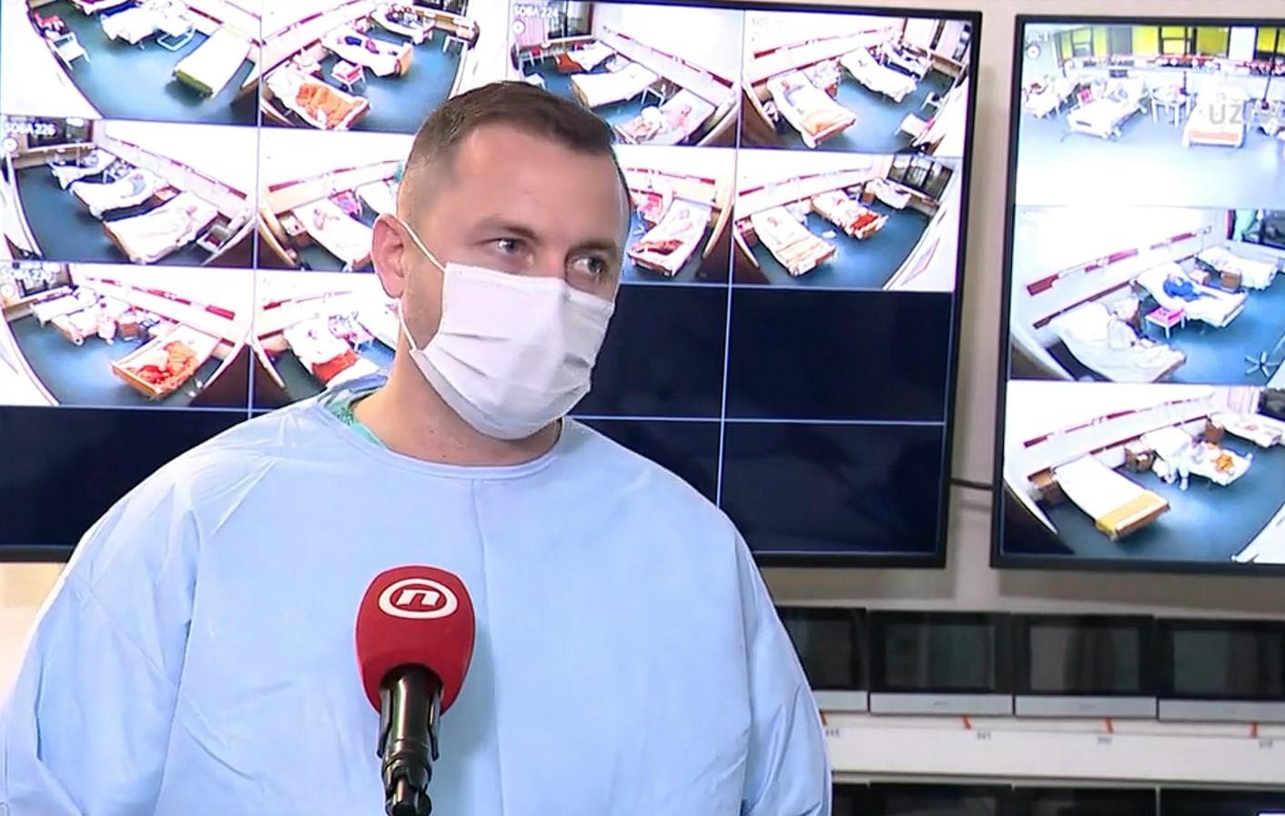 Dr. Aron Grubešić / Foto Screenshot Nova TV